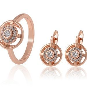 Gorgeous rose gold jewelry set 💍